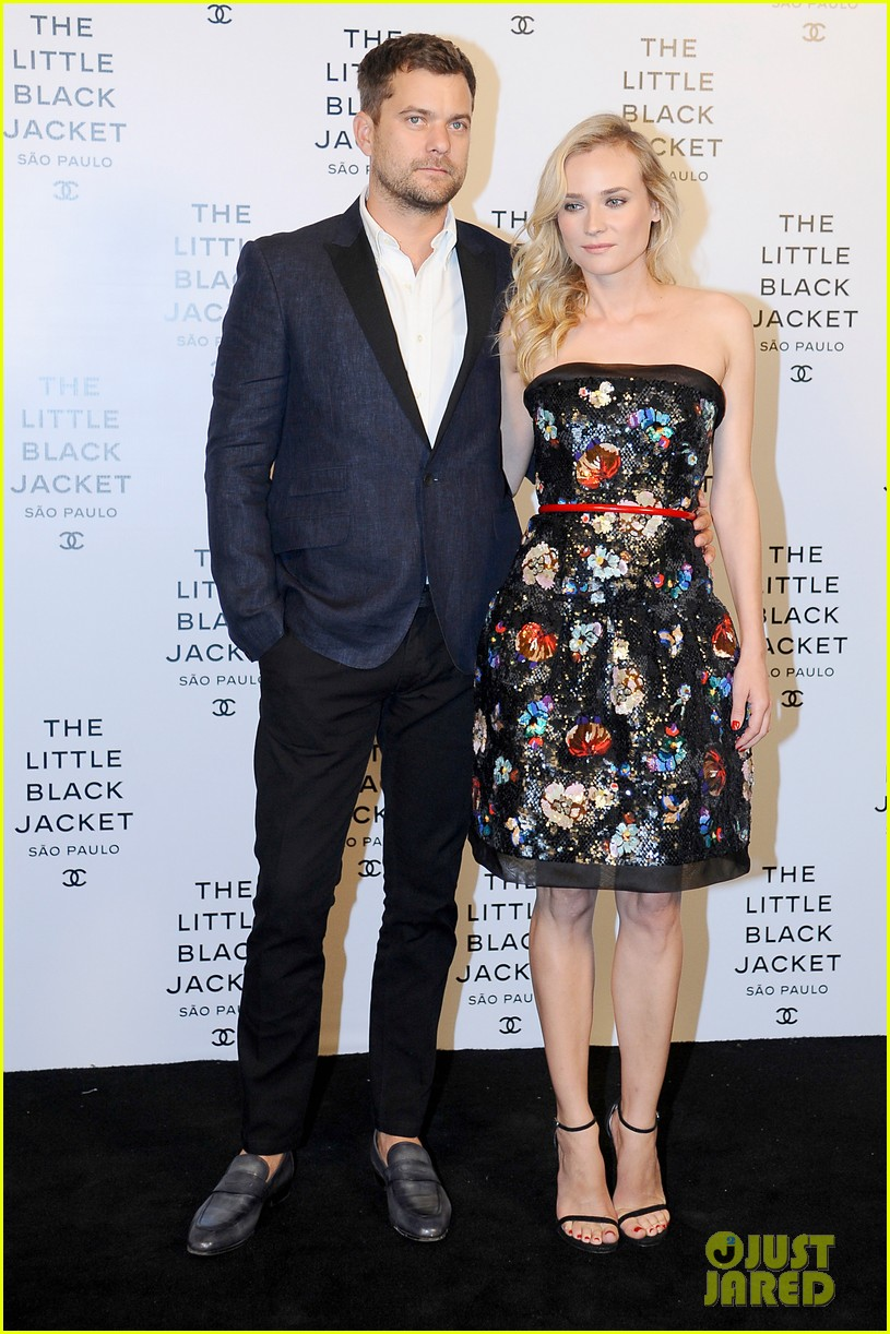 diane kruger joshua jackson chanel little black jacket event 04