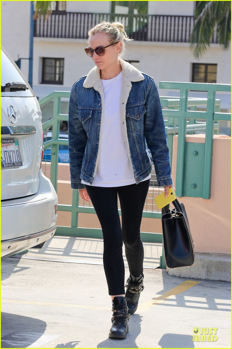 diane kruger prepares for fall with denim jacket 062969814