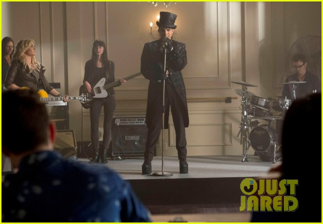 adam lamberts glee promo pics song listen now 012982896