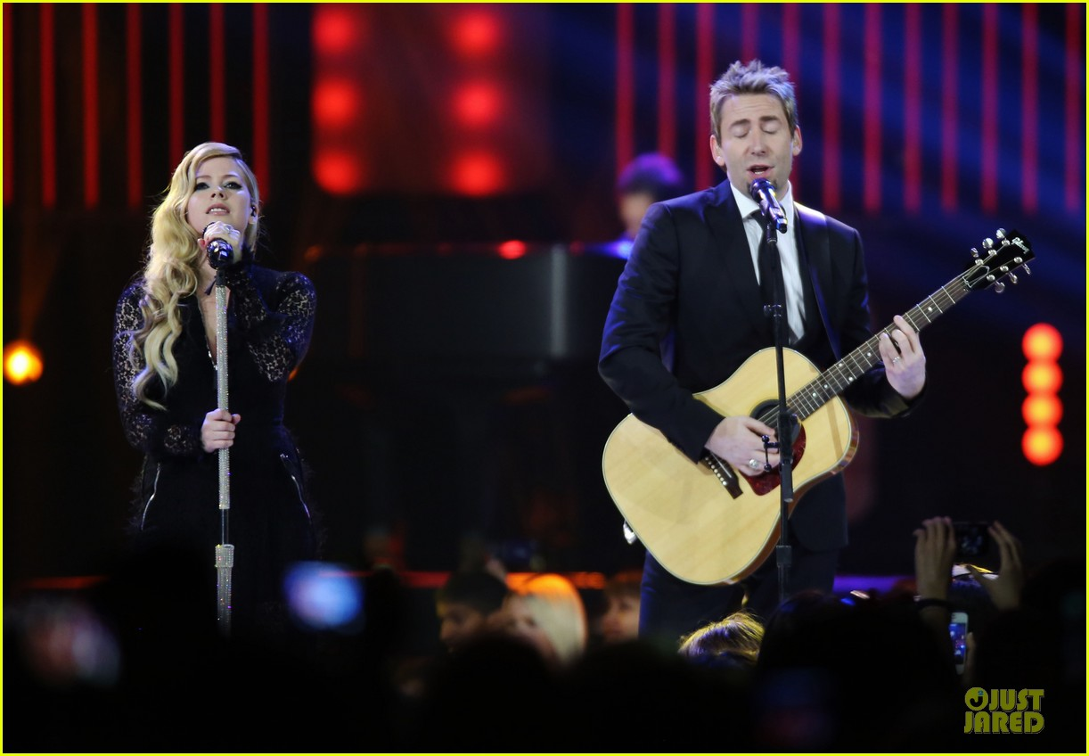 avril lavigne chad kroeger we day couple in vancouver 132974740