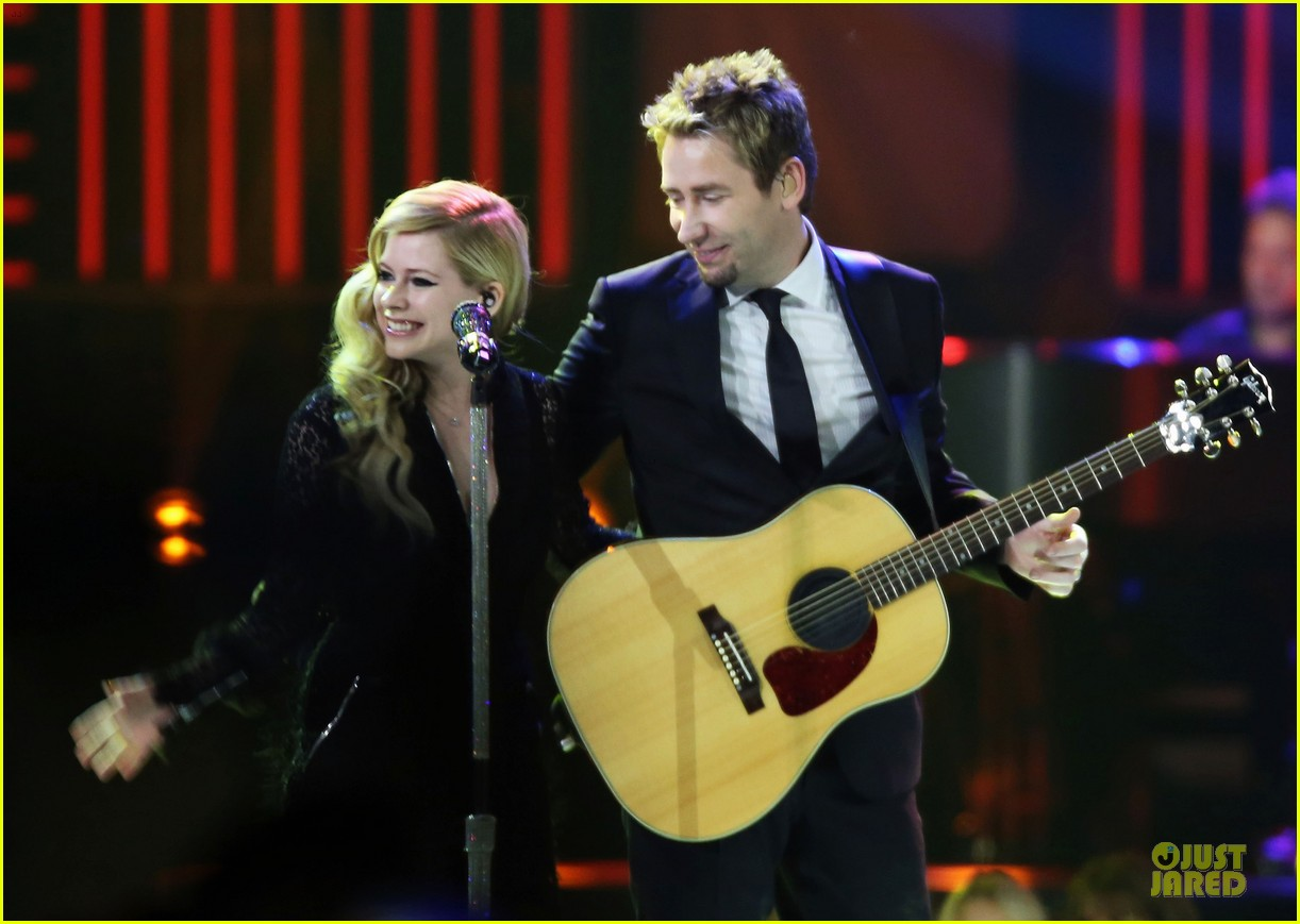 avril lavigne chad kroeger we day couple in vancouver 22