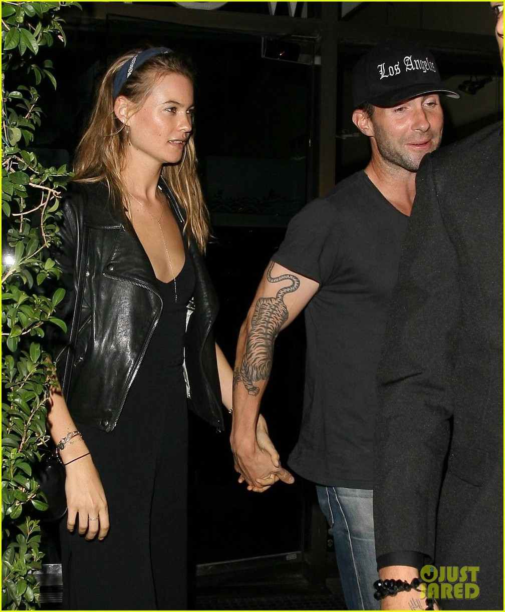 adam levine behati prinsloo mr chows date night 07