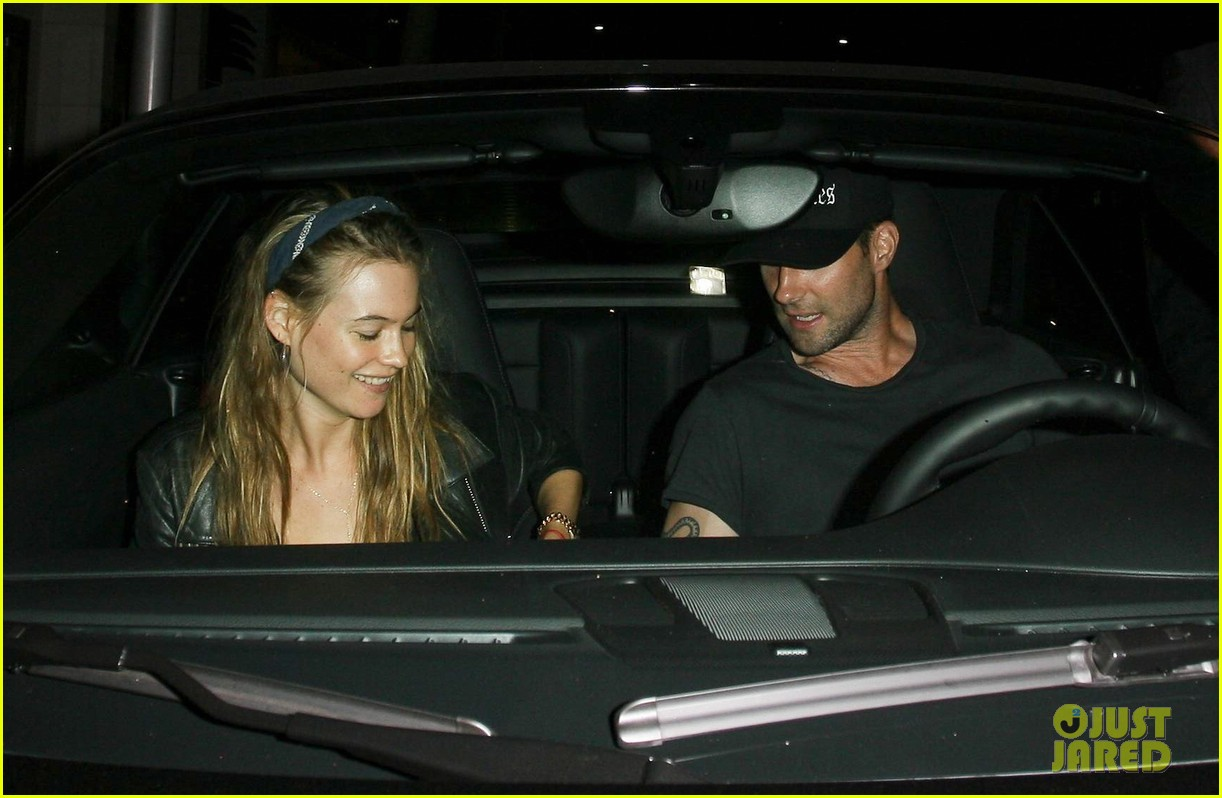 adam levine behati prinsloo mr chows date night 09