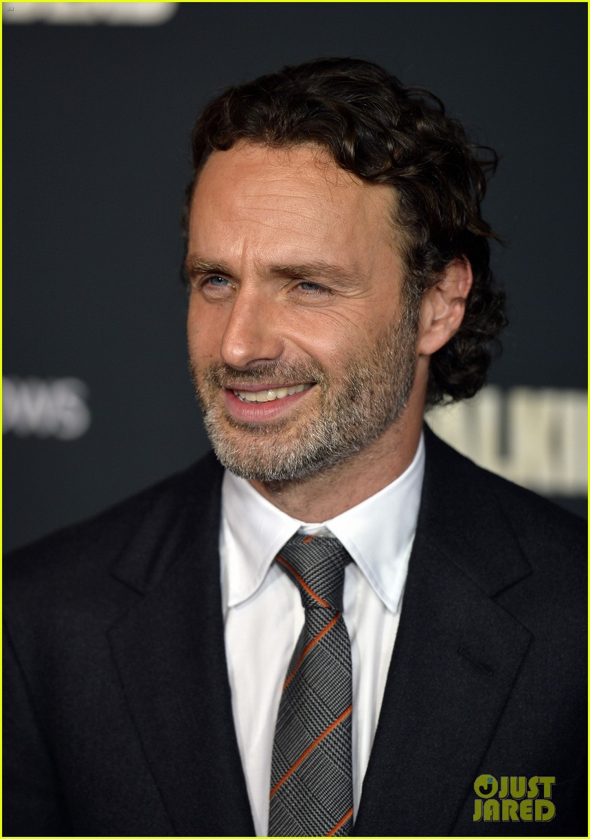 andrew lincoln norman reedus walking dead premiere 012965592