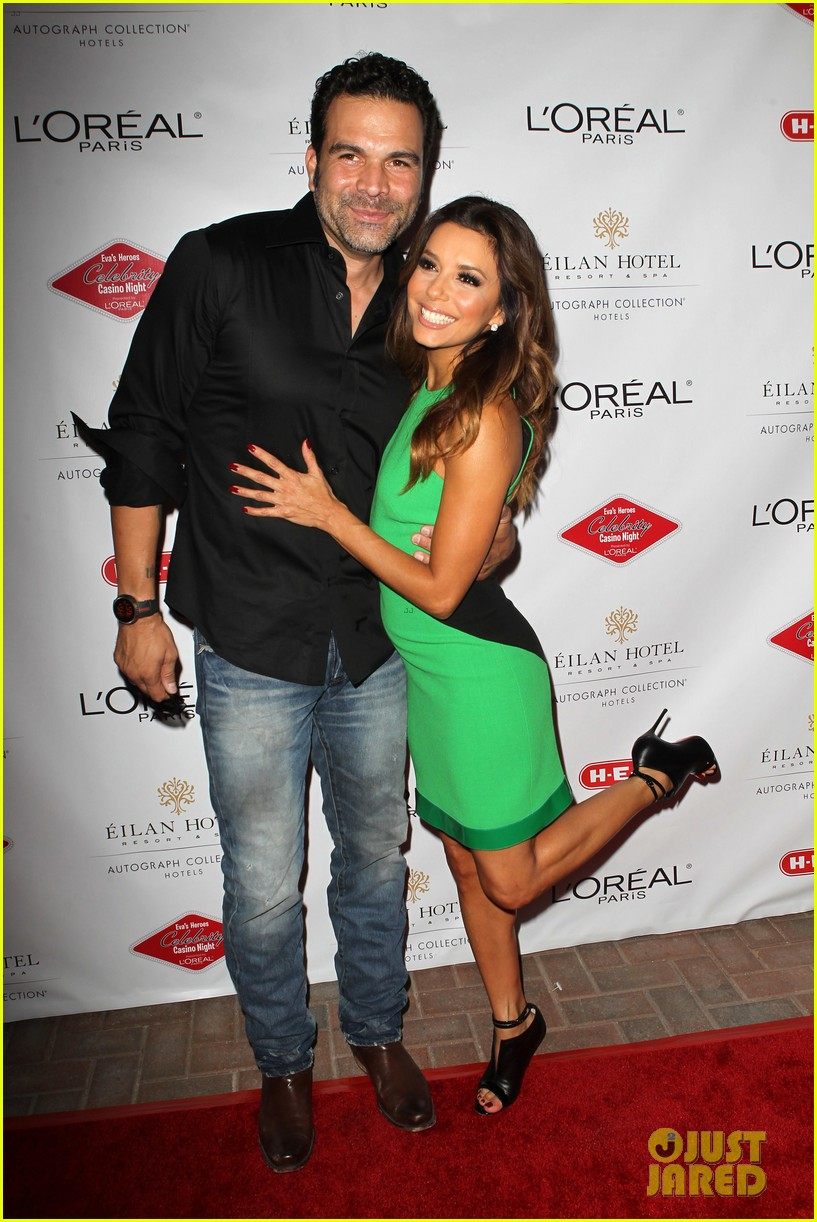 eva longoria evas heroes casino night 2013 10