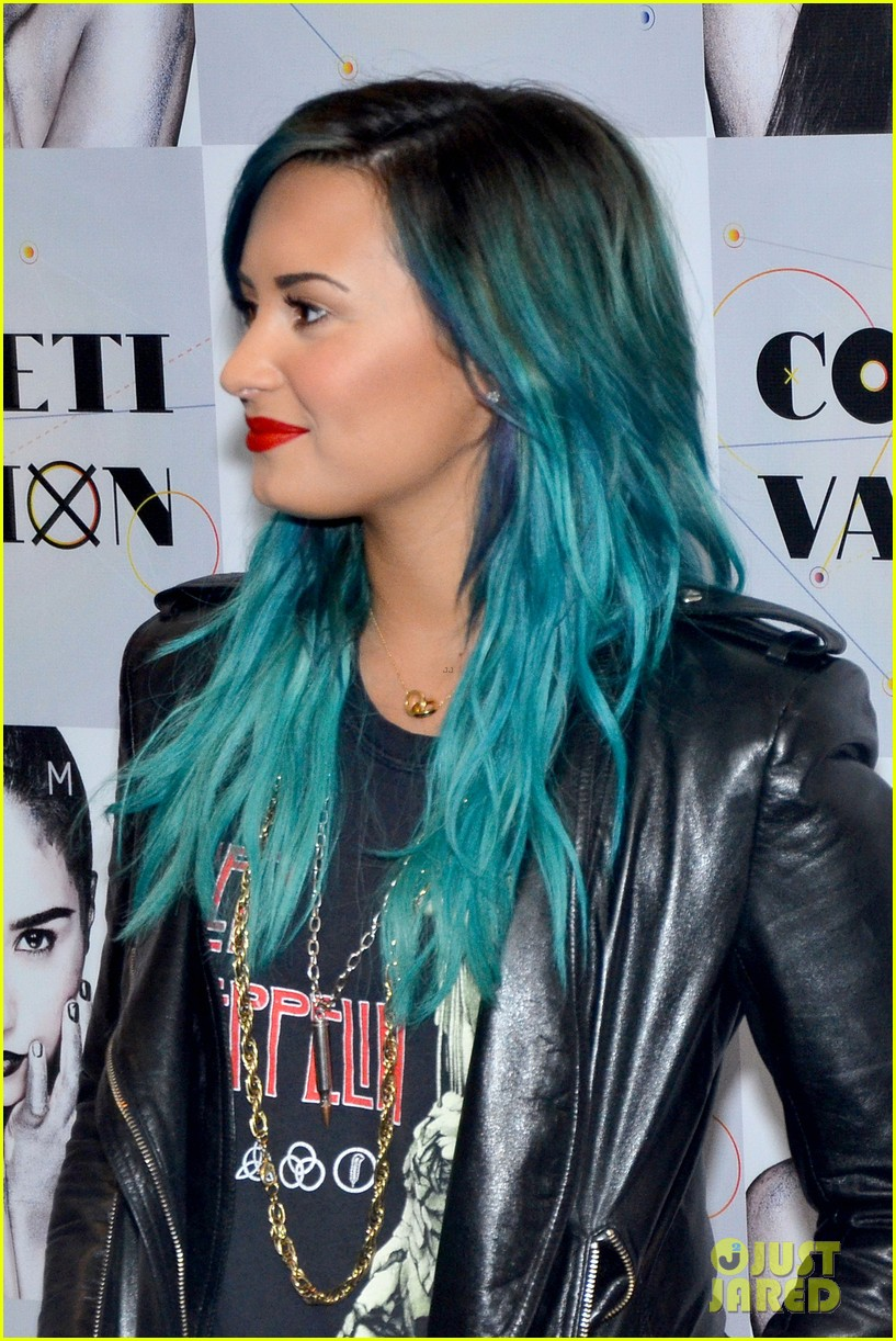 demi lovato promotes new album demi in brazil 01