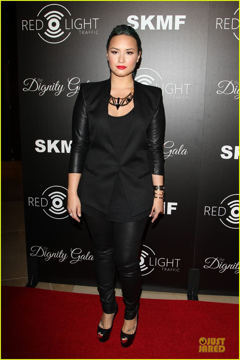 demi lovato redlight traffic app launch 012974765