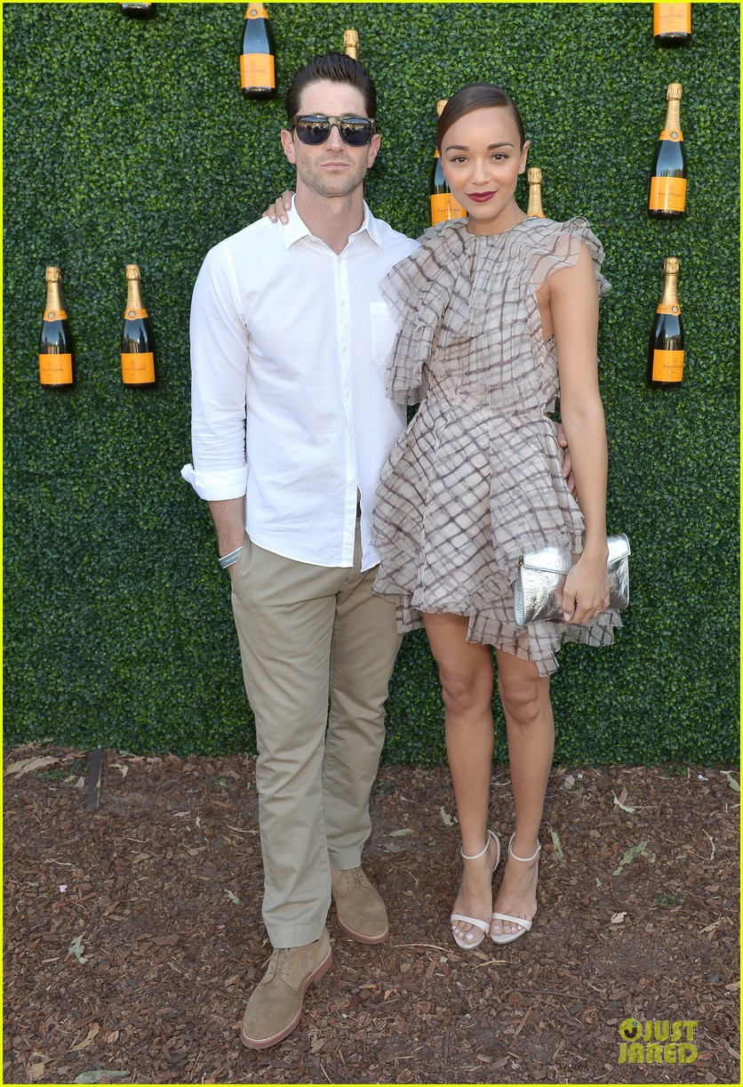 ashley madekwe holland roden veuve clicquot polo classic 2013 01