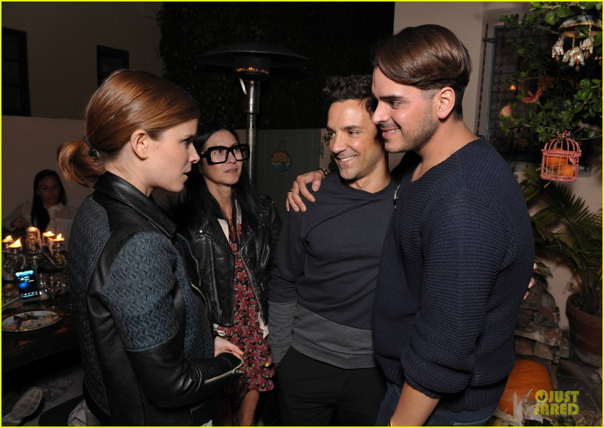 kate mara bff johnny wujek spinmedia supper club 19