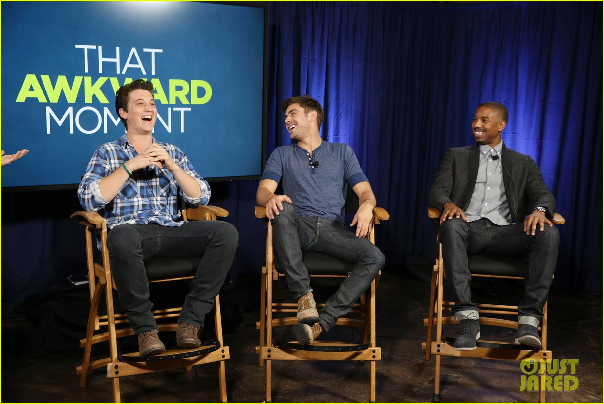 michael b jordan miles teller that awkward moment qa with zac efron 15
