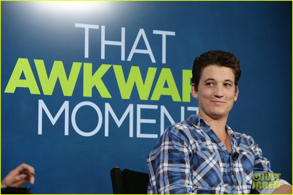 michael b jordan miles teller that awkward moment qa with zac efron 322973172