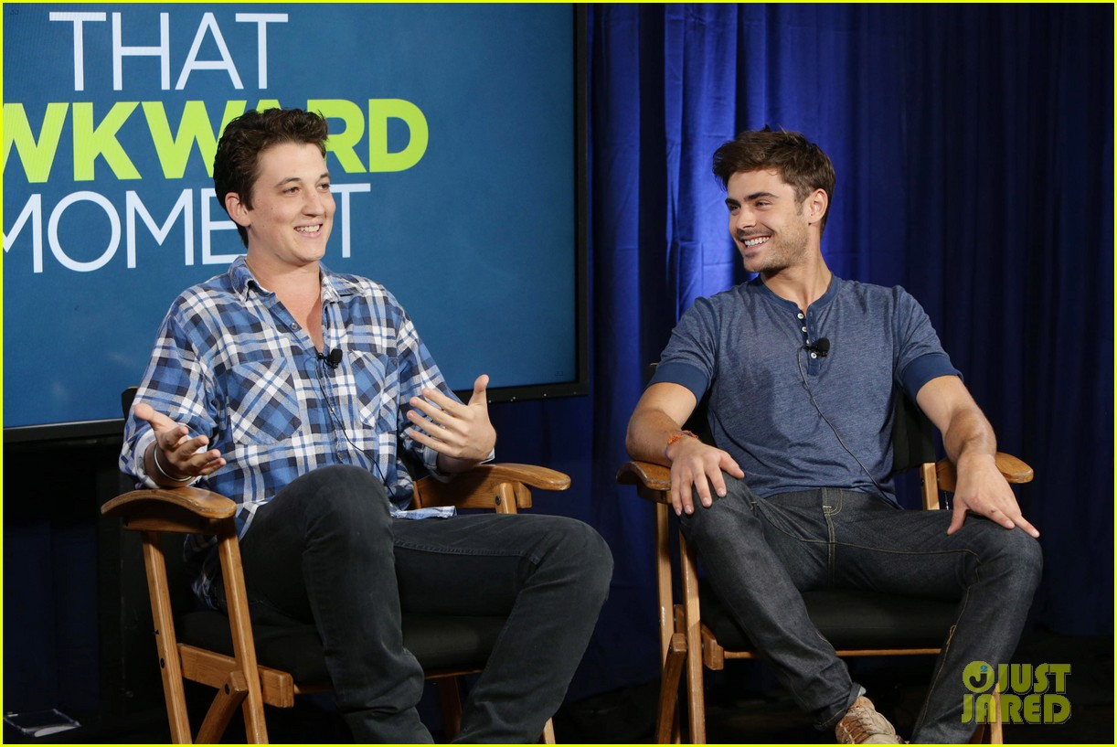 michael b jordan miles teller that awkward moment qa with zac efron 36