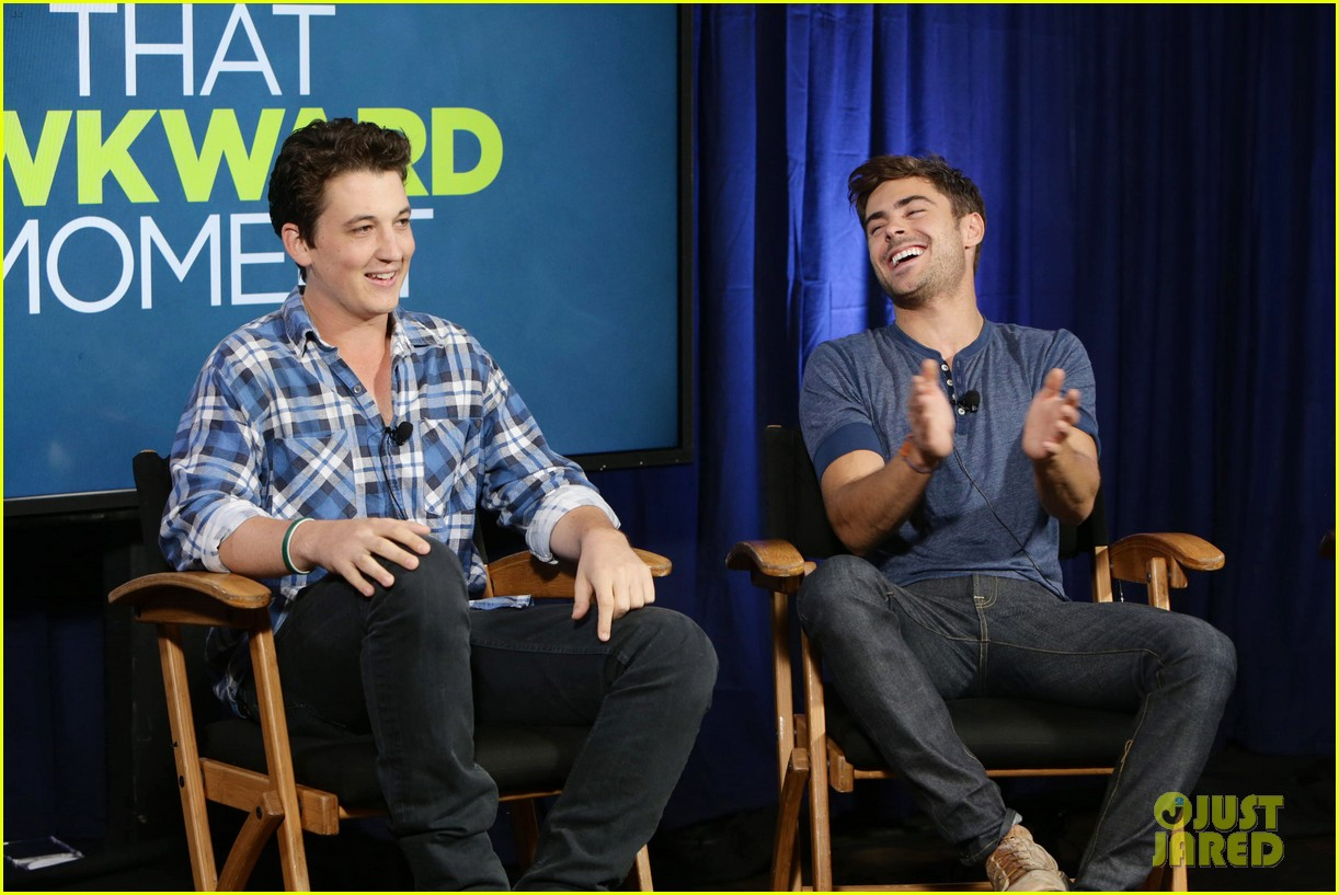 michael b jordan miles teller that awkward moment qa with zac efron 372973177