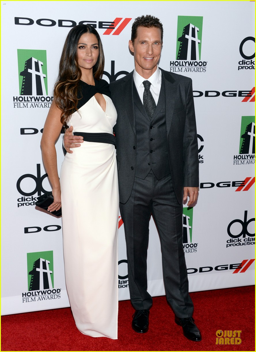 matthew mcconaughey camila alves hollywood film awards 2013 032976613