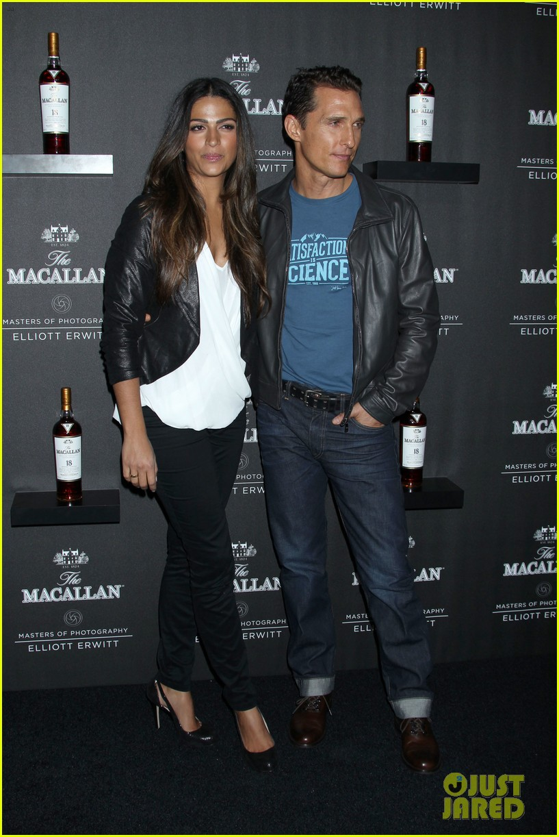matthew mcconaughey camila alves macallan masters of photography debut 02
