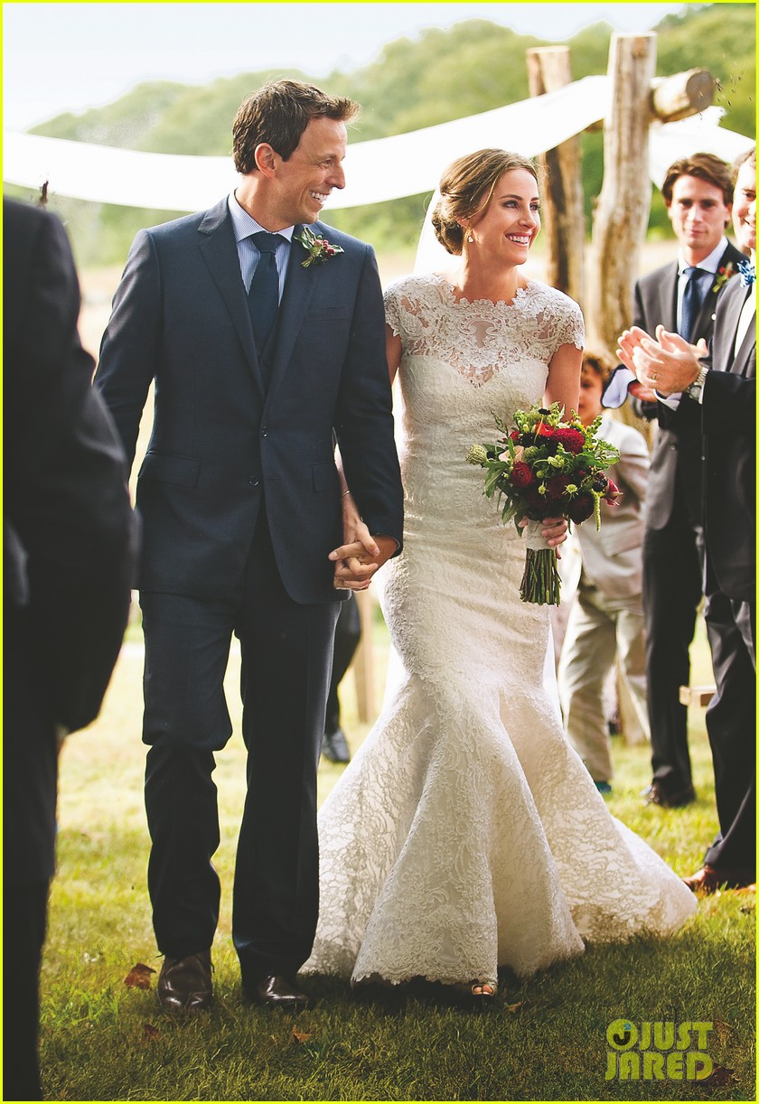 seth meyers wedding photos revealed 01