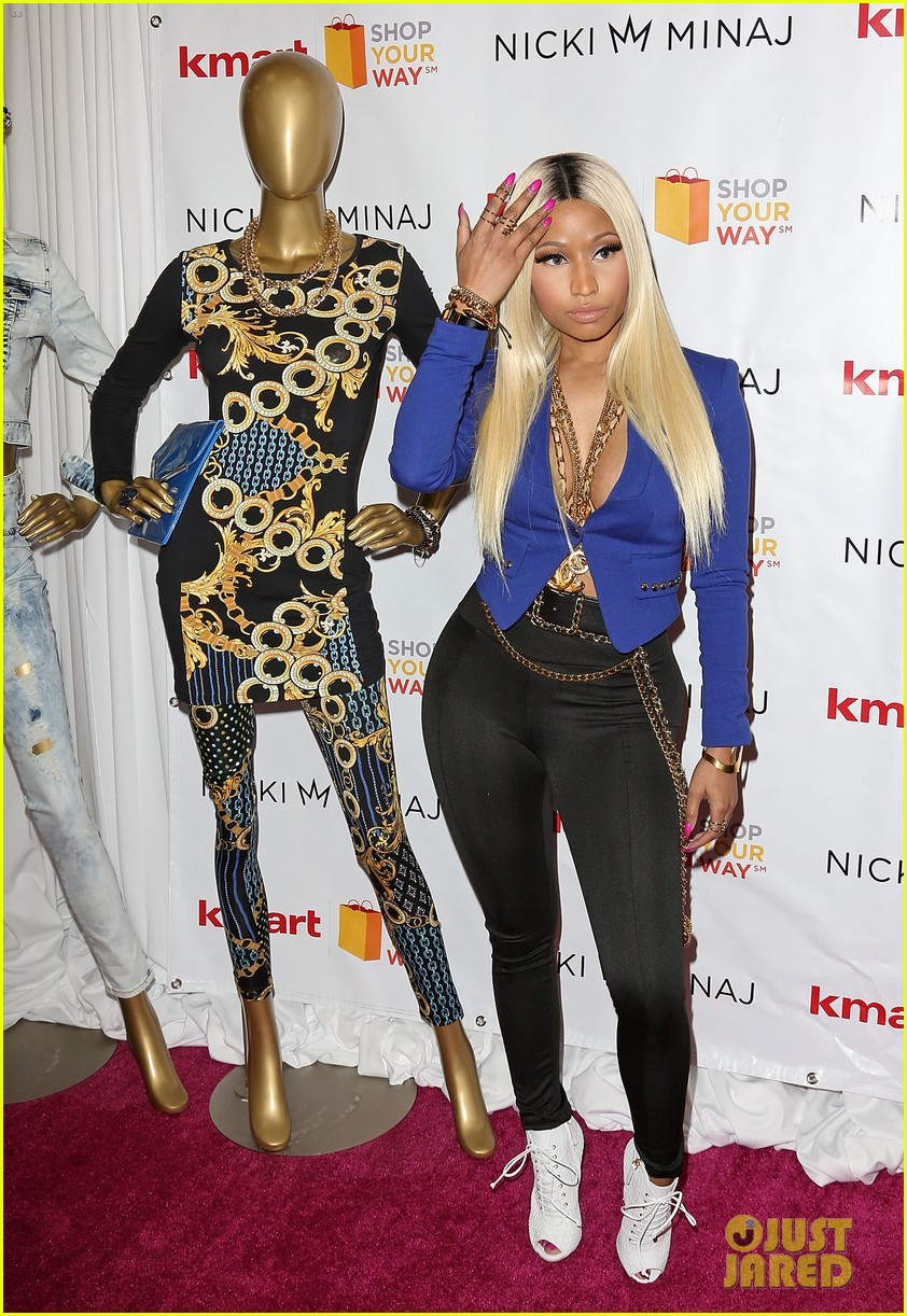 nicki minaj kmart collection shop your way event 03