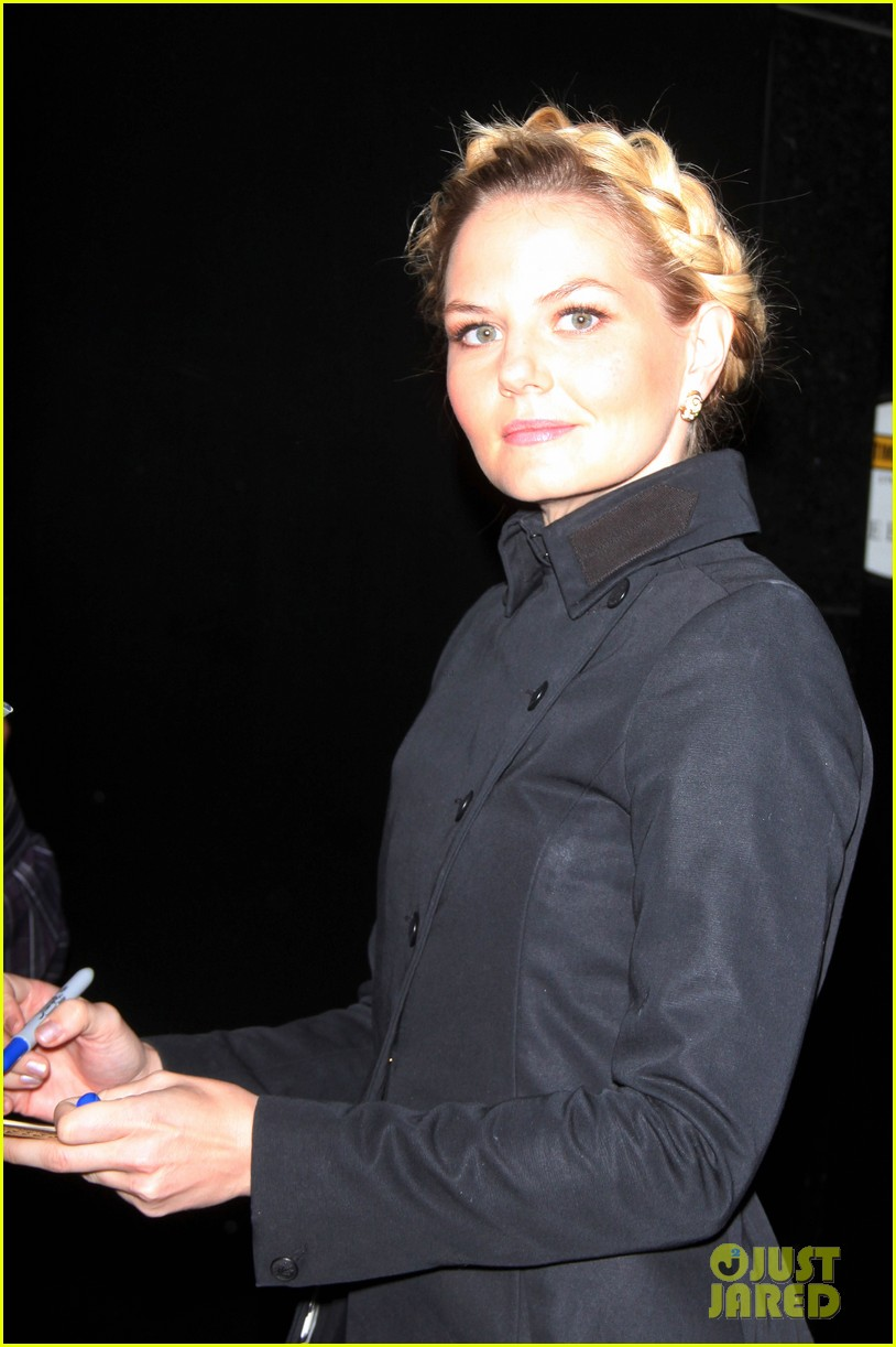 jennifer morrison promotes once upon a time in nyc 102976949