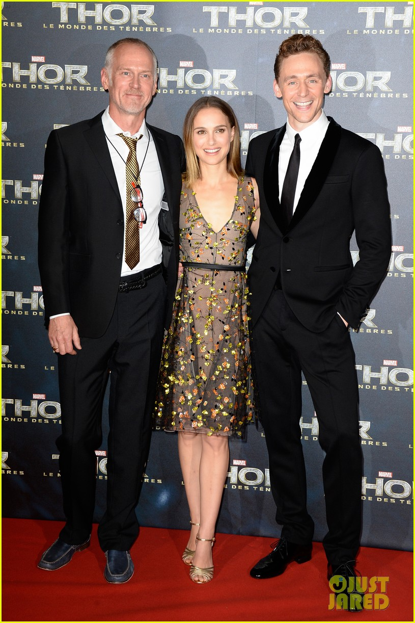 natalie portman tom hiddleston thor paris premiere 11