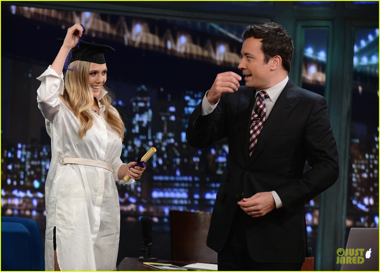 elizabeth olsen kill your darlings on fallon 09