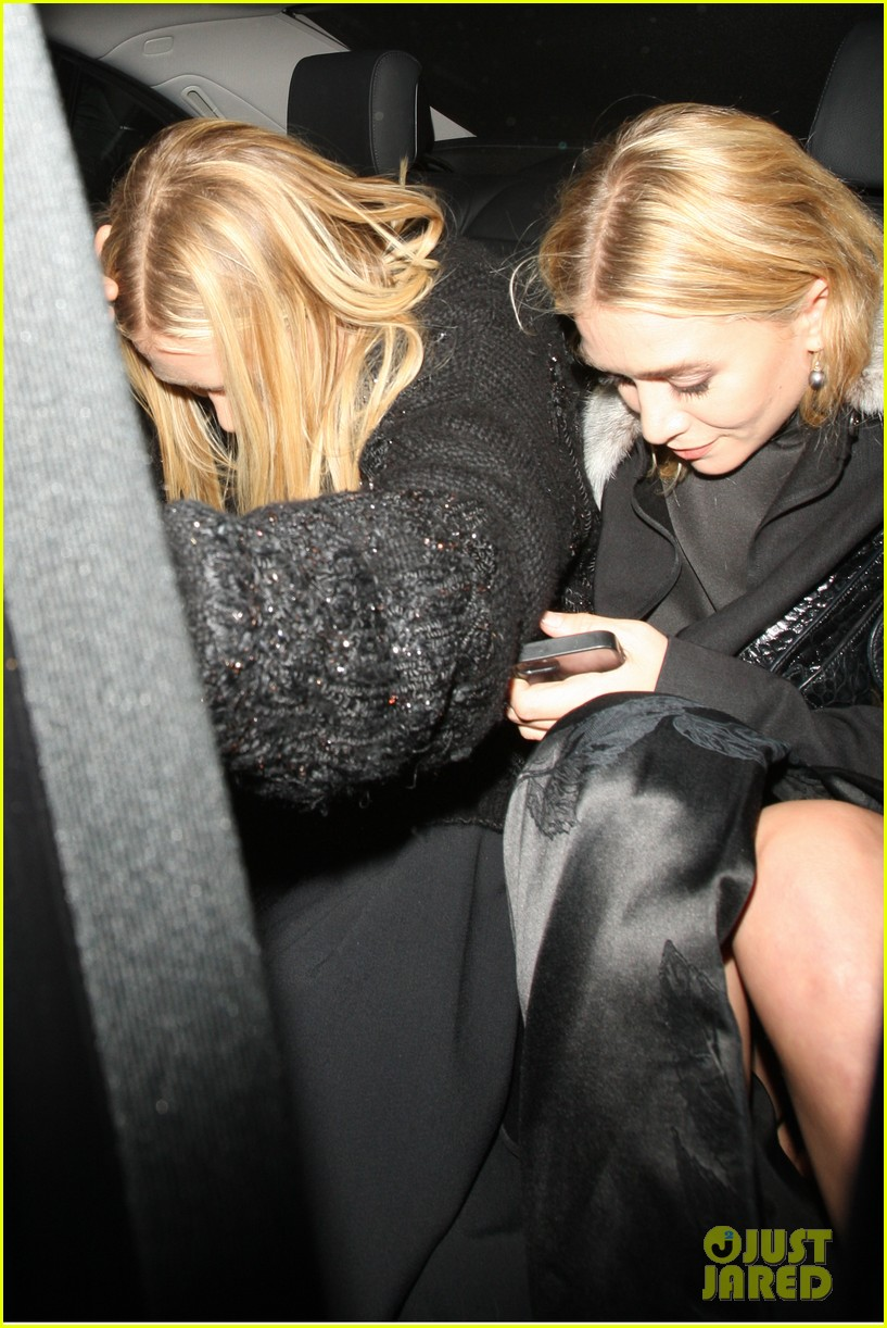mary kate ashley elizabeth olsen night out in seperate countries 04