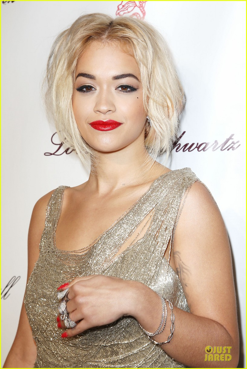 rita ora alyssa miller angel ball 2013 19