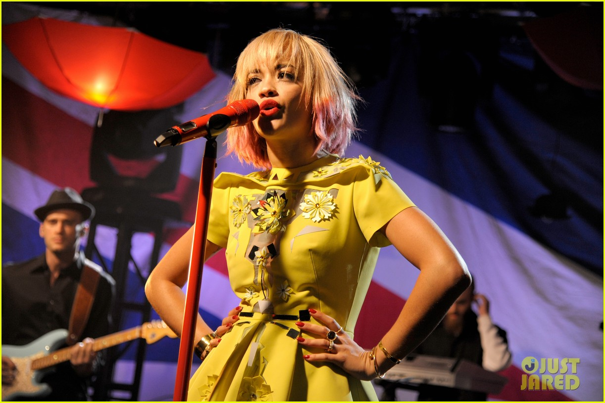 rita ora performs live at iheartradios uk rocks concert 172974311