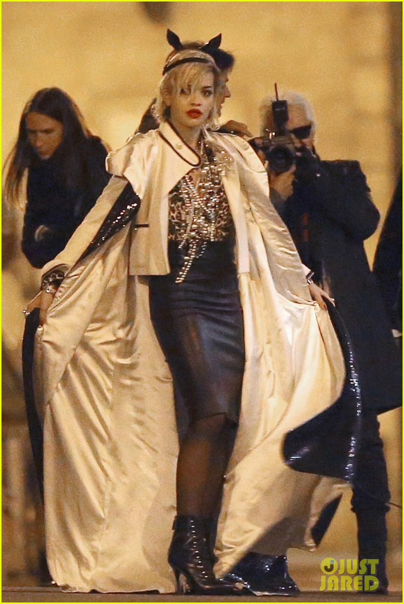 rita ora midnight photo shoot with karl lagerfeld 112971440