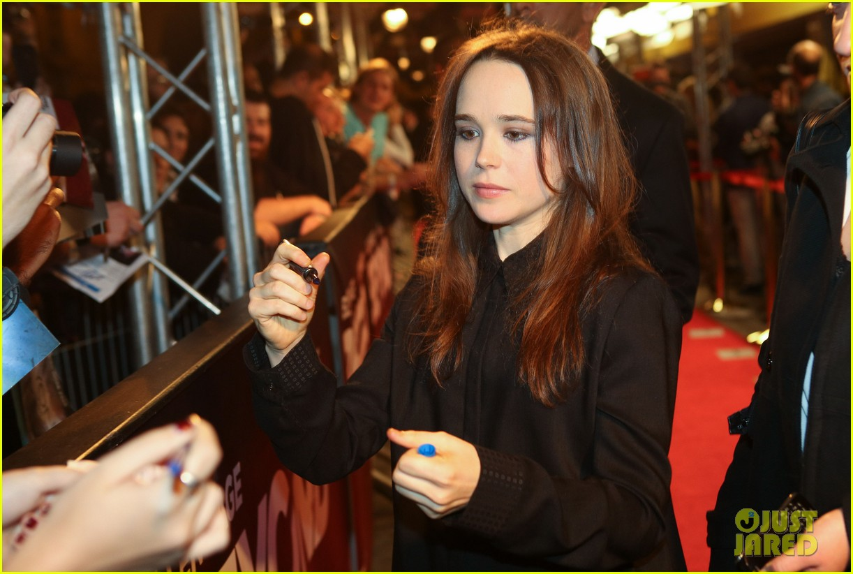 Ellen Page: 'Beyond: Two Souls' Game Premiere ...