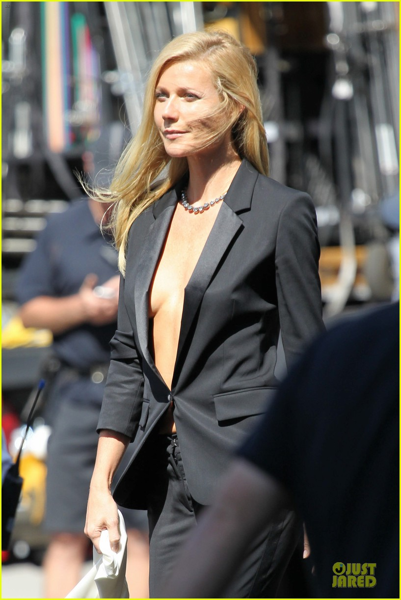 gwyneth paltrow goes braless for hugo boss 25