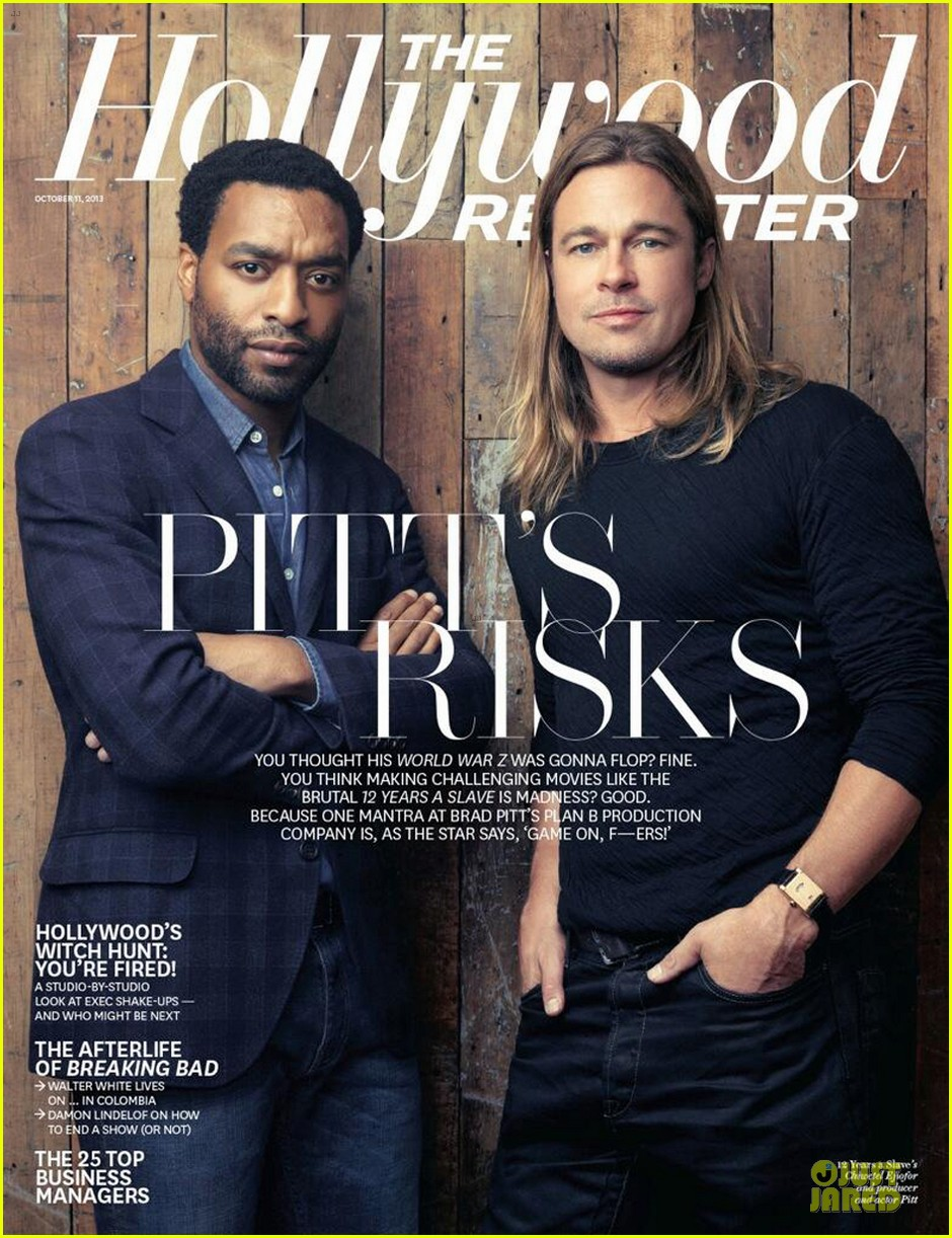 brad pitt shares thr cover with chiwetel ejiofor 01