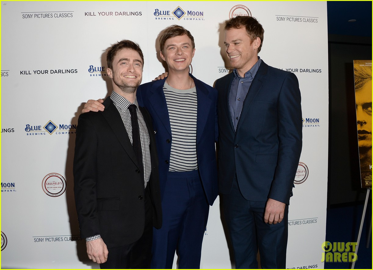 daniel radcliffe dane dehaan kill your darlings premiere 18