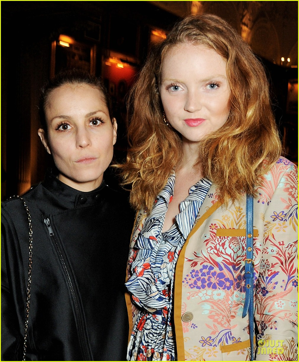 noomi rapace london edition nowness dinner with lily cole 02