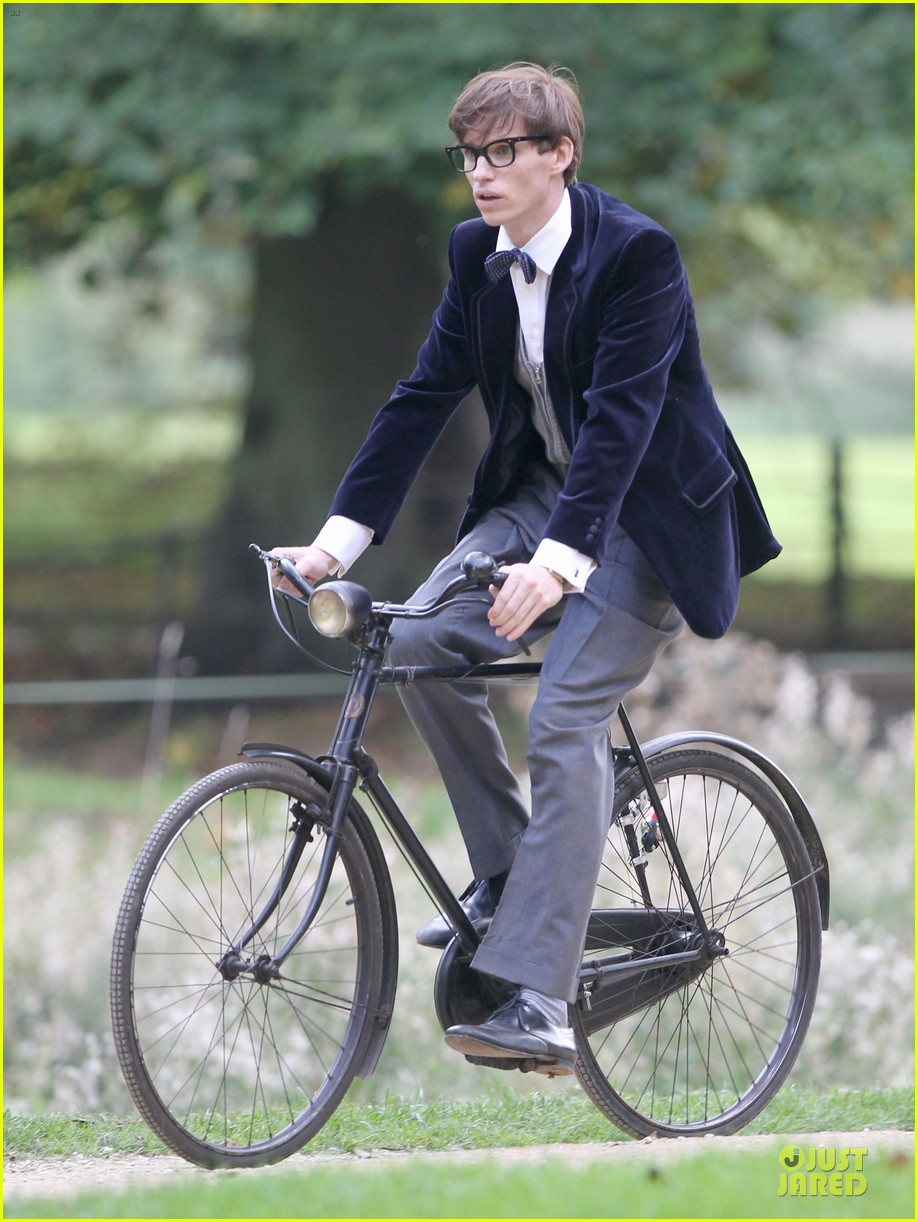 eddie redmayne felicity jones theory of everything set 03