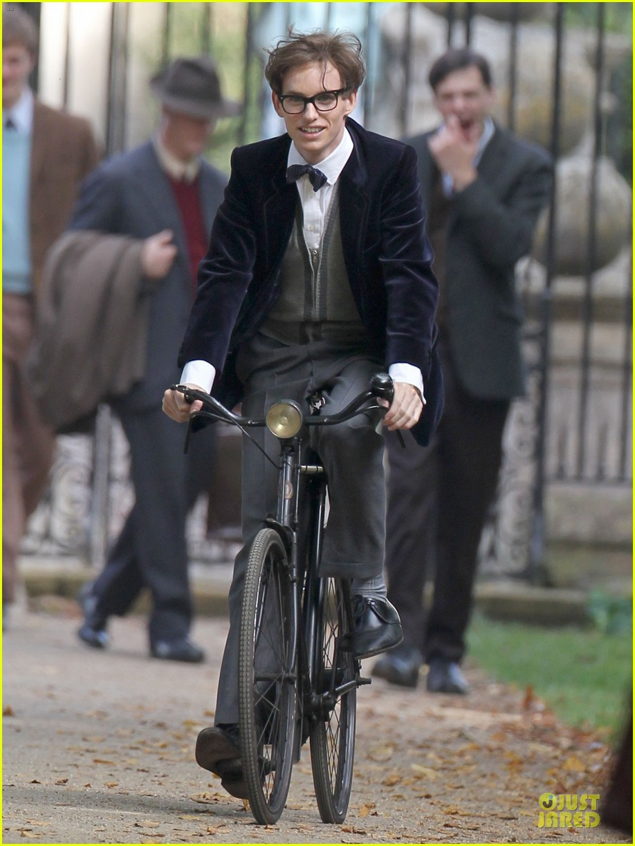 eddie redmayne felicity jones theory of everything set 072968029