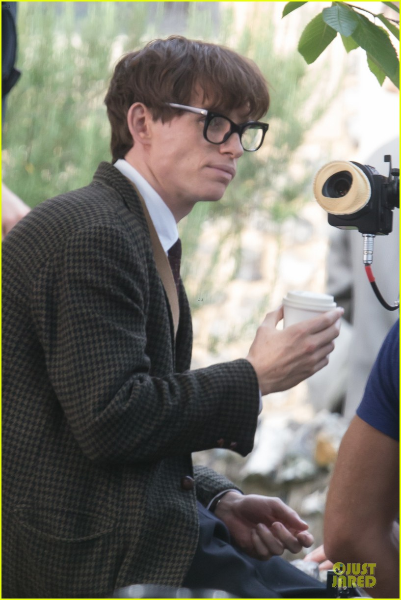 eddie redmayne felicity jones theory of everything set 222968044