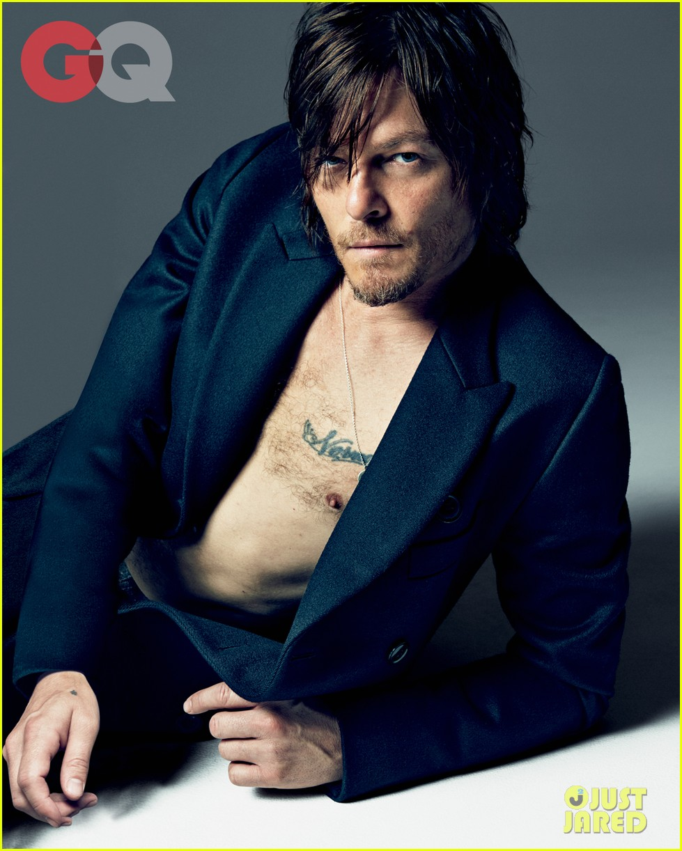 walking deads norman reedus gq feature 01