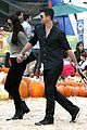 robin thicke paula patton smooches pumpkin patch 26