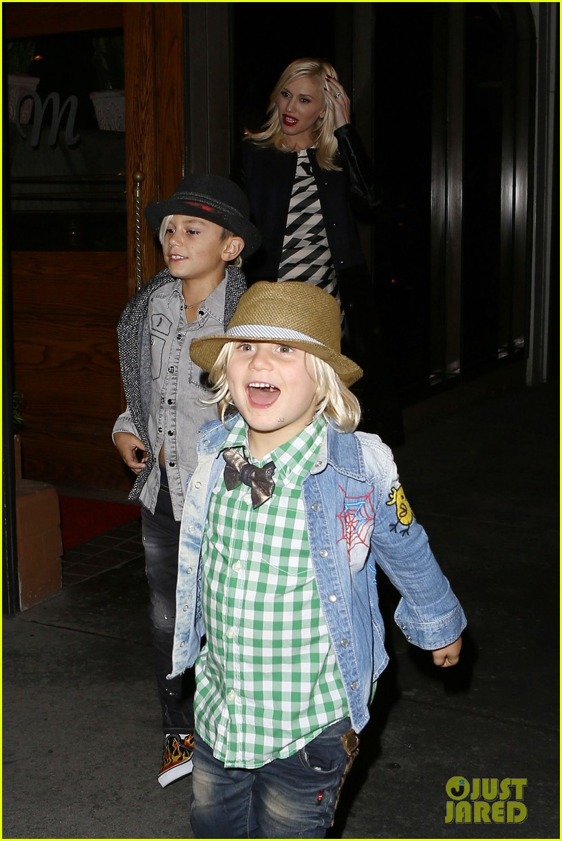 gavin rossdale celebrates birthday with gwen stefani kids 102983193