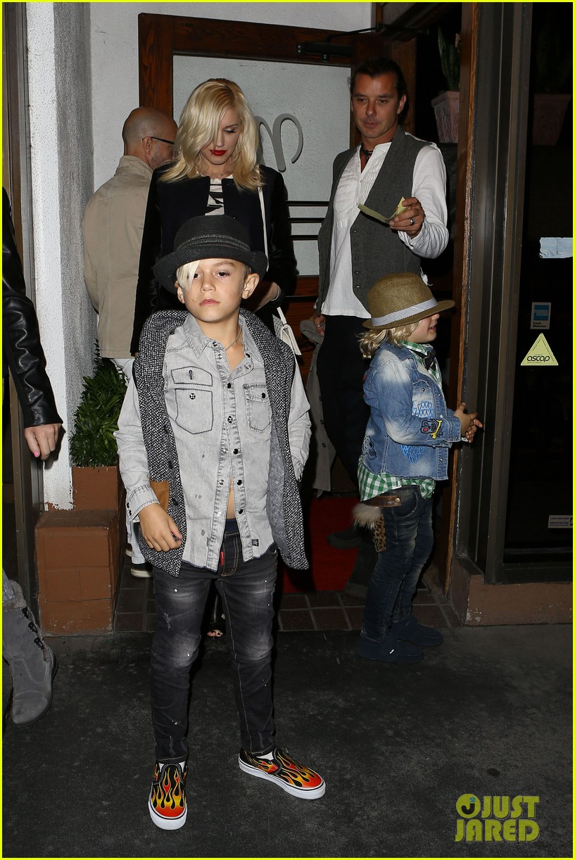 gavin rossdale celebrates birthday with gwen stefani kids 16