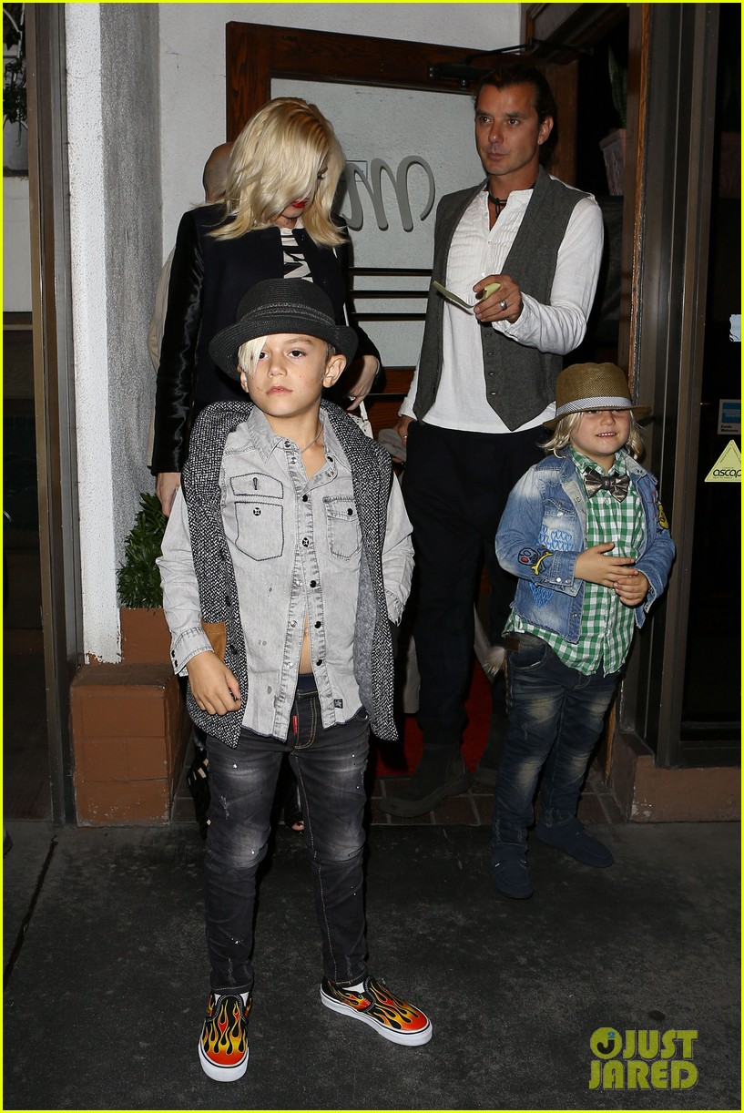 gavin rossdale celebrates birthday with gwen stefani kids 222983205
