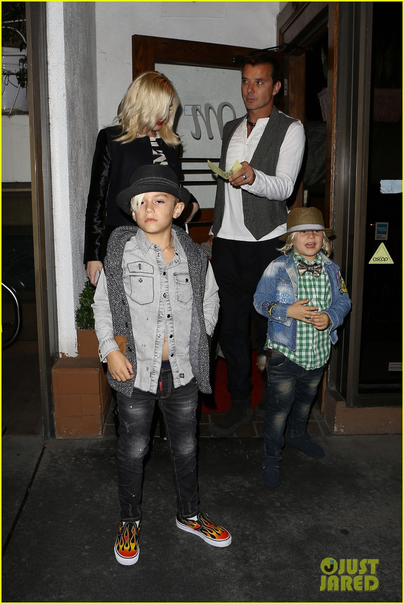 gavin rossdale celebrates birthday with gwen stefani kids 232983206