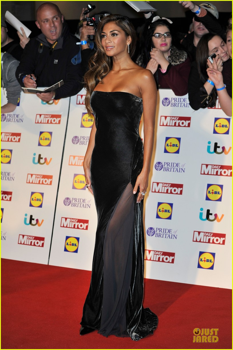 nicole scherzinger sheer dress at pride of britain awards 032968002