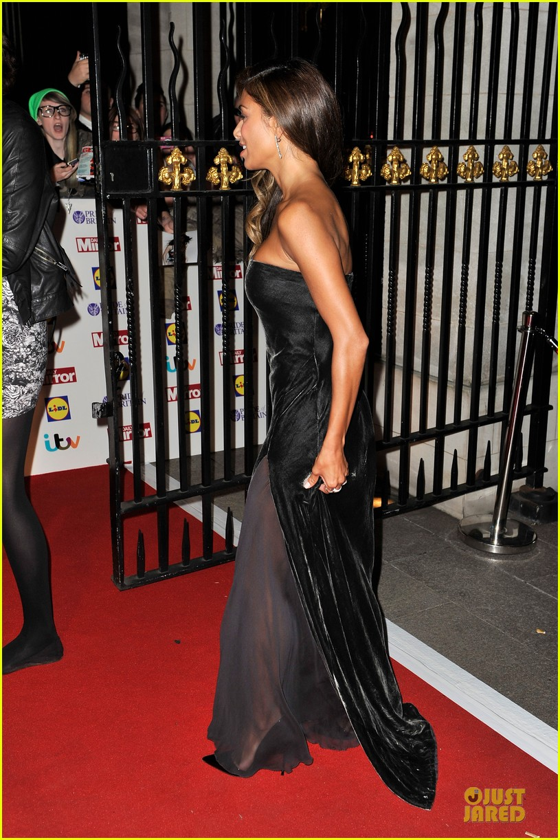 nicole scherzinger sheer dress at pride of britain awards 082968007