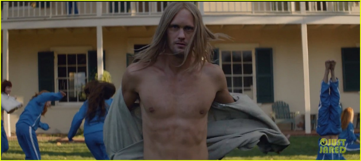 alexander skarsgard shirtless for cut copy free your mind 03