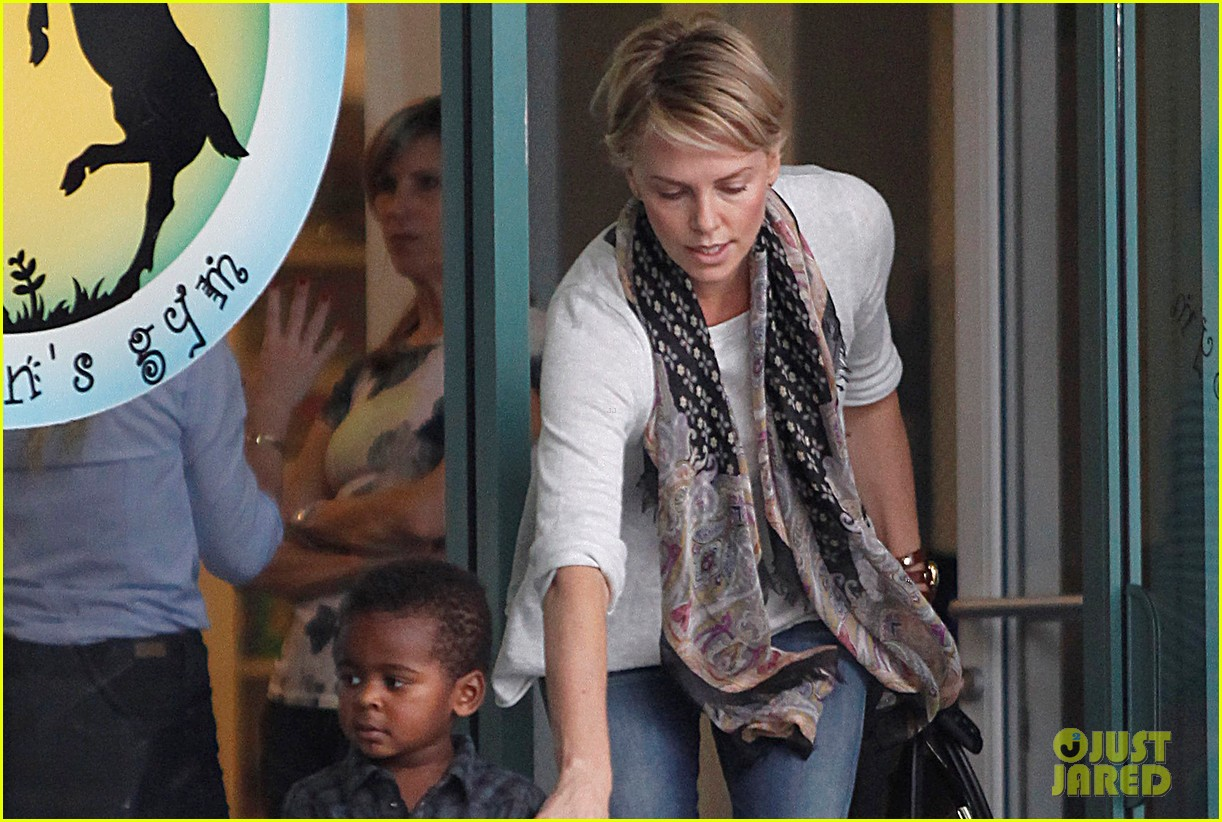 charlize theron holds on tight to son jackson 03