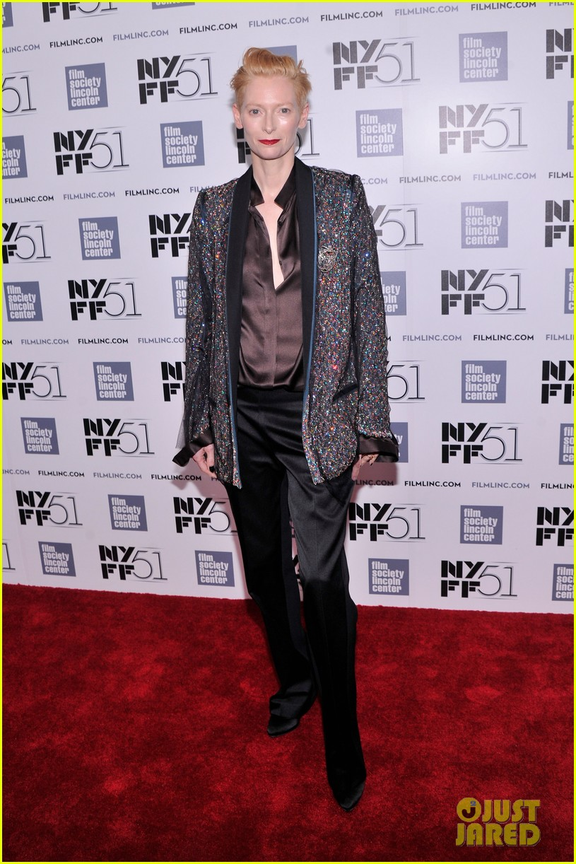 tilda swinton only lovers left alive nyff premiere 012970079