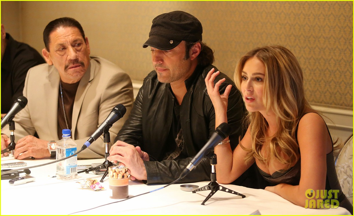 alexa vega machete kills press conference 02