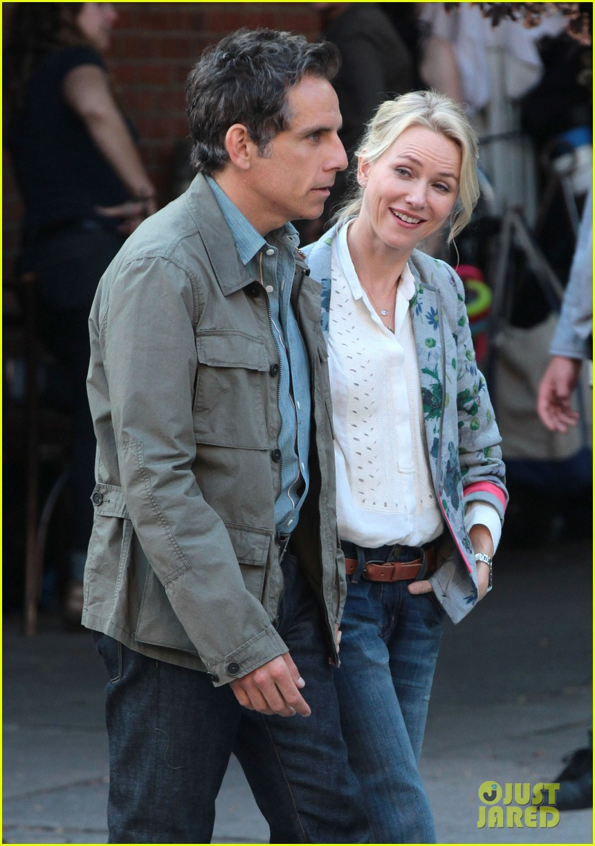 naomi watts ben stiller lovers on while we're young set 092965030
