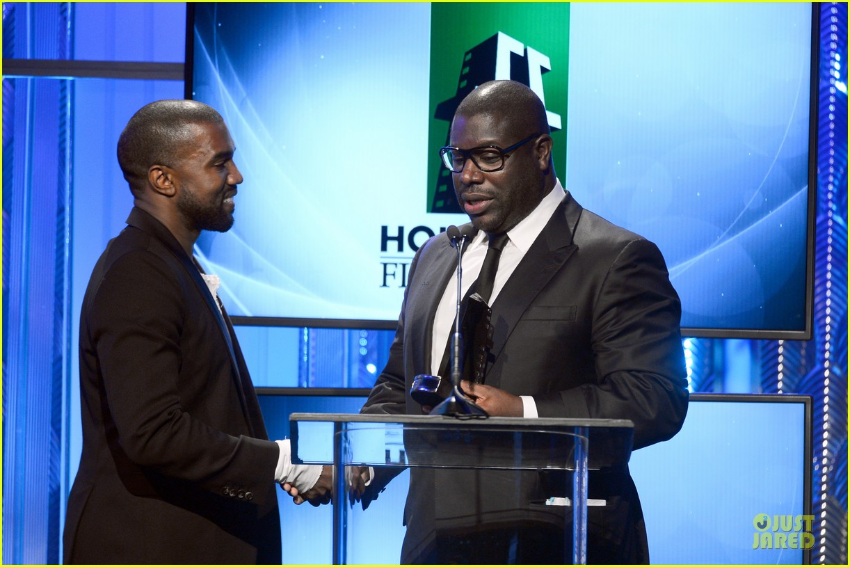 kanye west engagement glow at hollywood film awards 2013 03